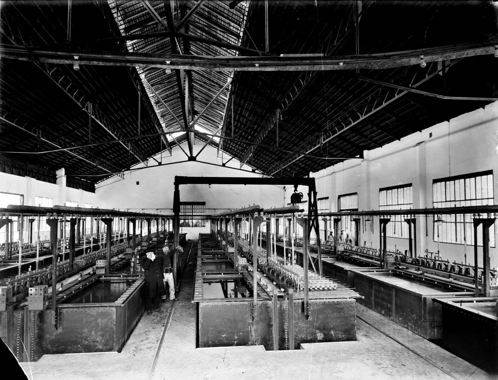 Electrolysis in 1916